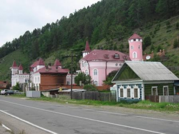 Excursion au village Listvyanka