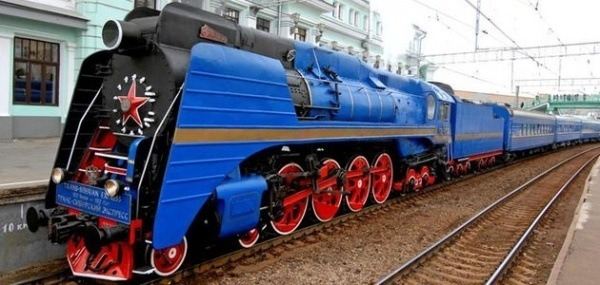 Imperial Russia train Moscow - Vladivostok