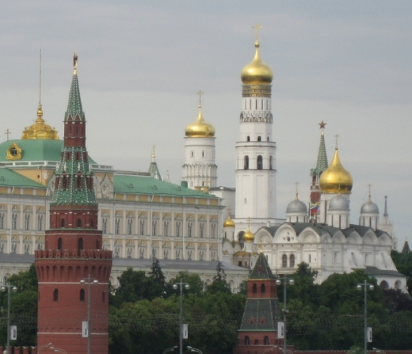 Moscow Golden Domes