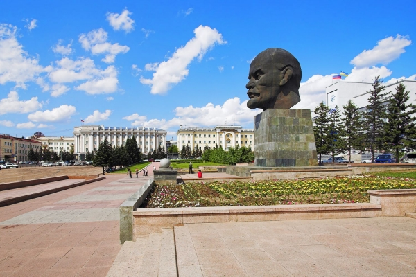 City tour of Ulan Ude with visit to the Ethnographical Museum, 4,5 hours